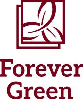 Forever Green UMN Maroon vertical logo