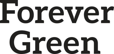 Forever Green black wordmark
