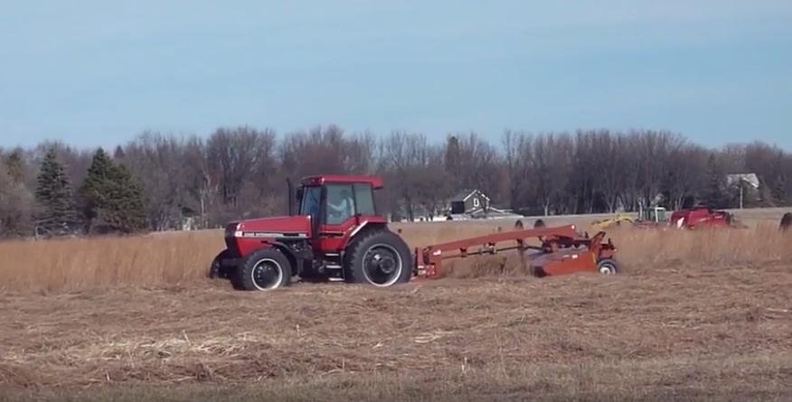 harvesting grassland biomass